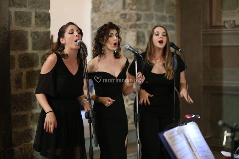 Vocal Trio per una cerimonia o