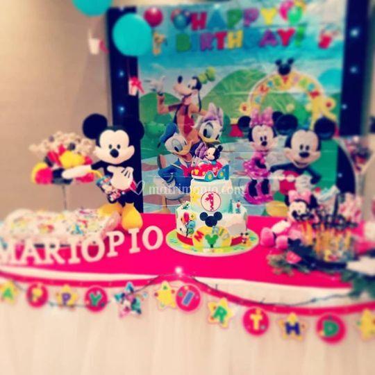 Primo compleanno di Mario Pio