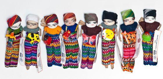 Bamboline dal Guatemala