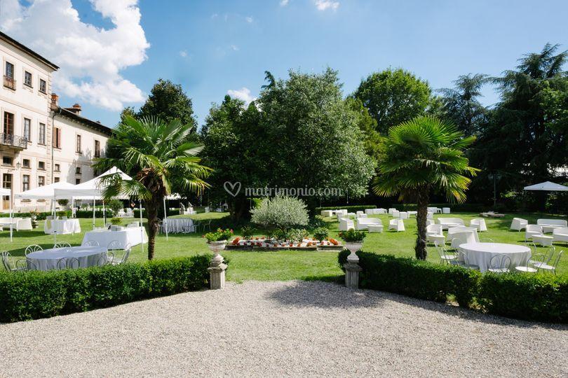 Villa Resta Mari   Parco