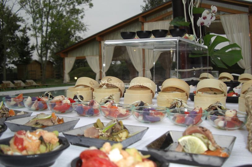 Finger food a bordo piscina
