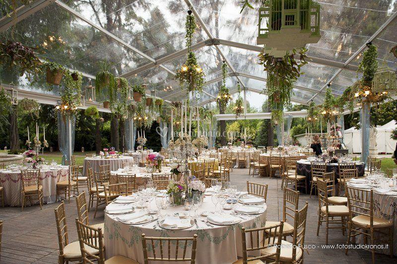 Location Matrimonio Rustico Lombardia : Matrimonio in serra di eventi catering foto