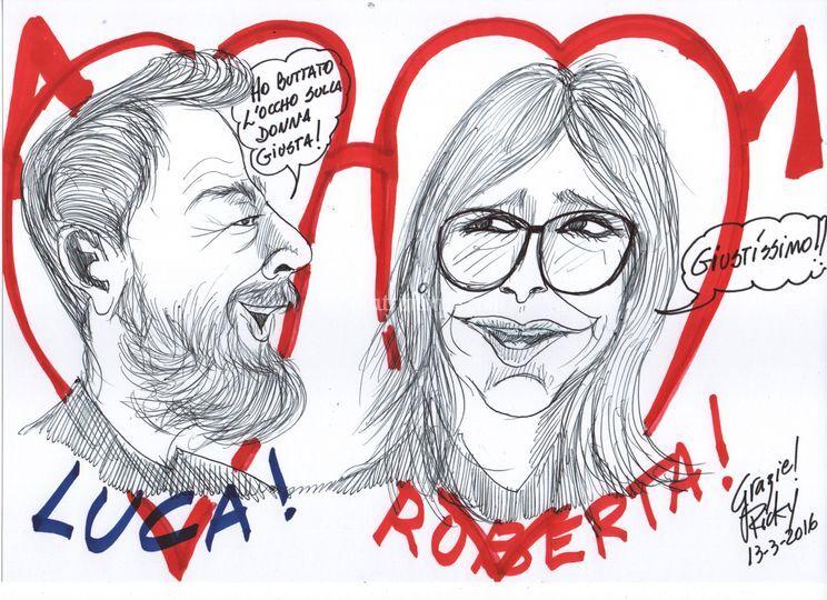 Luca y Roberta - Ottica Da Rio