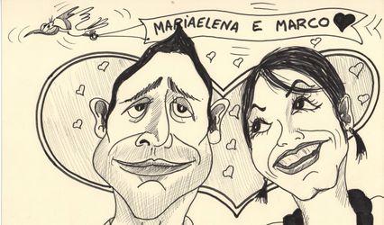 Ricky Caricature 1
