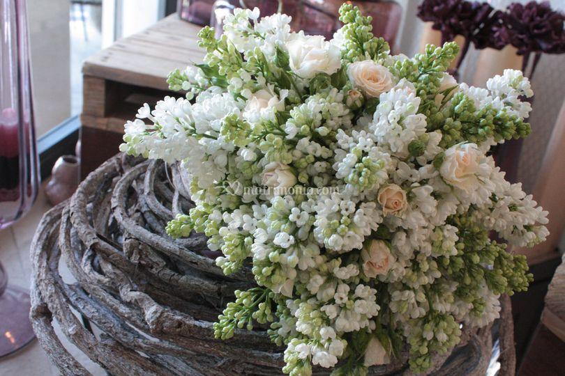 Bouquet sposa lillà