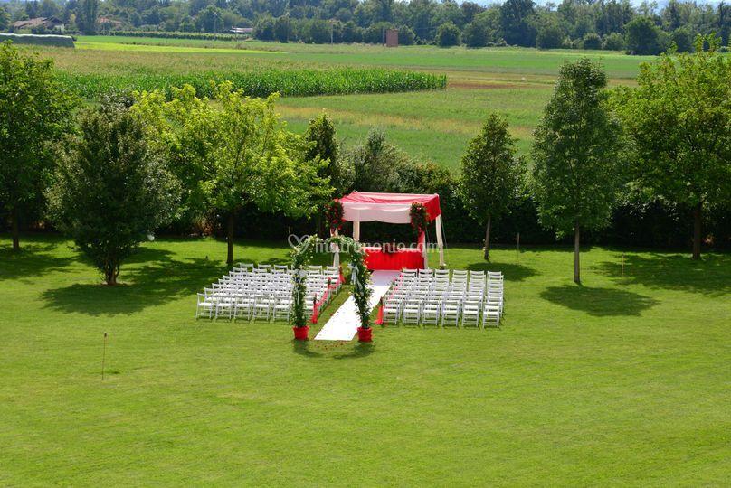 Matrimonio Simbolico In Giardino : Ca tegoni