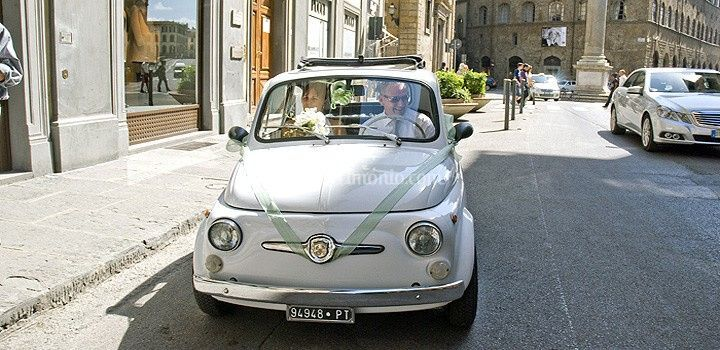 Fiat 500 - Italian Wedding Car