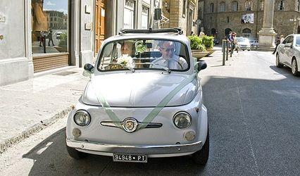 Fiat 500 - Italian Wedding Car 1