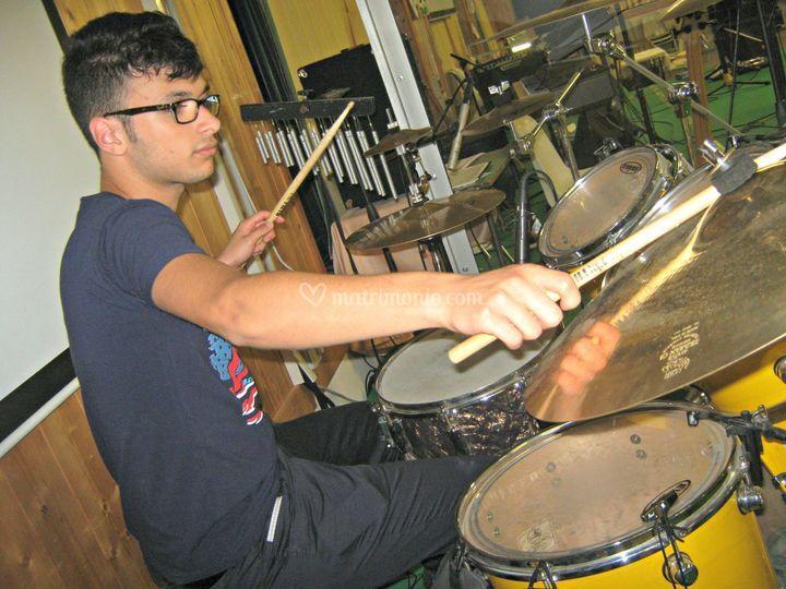 Stefano Tivisini (batteria)