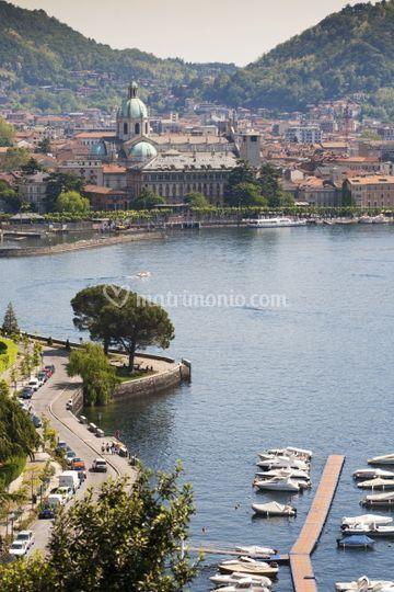 Palace vista lago