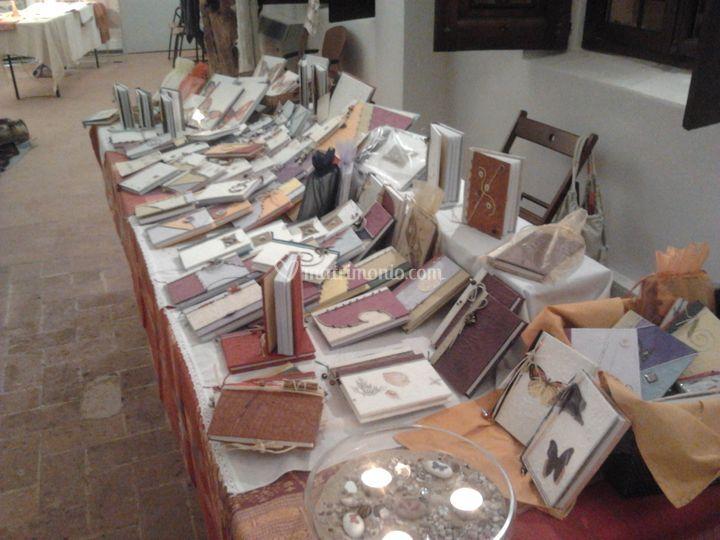 Esposizione diari salone libro