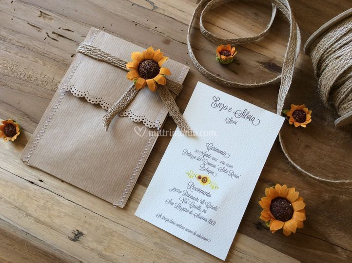 Inviti Matrimonio Girasoli : Girasoli giallo inviti matrimonio puzzle girasole nozze inviti etsy