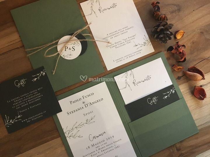 Partecipazione verde oliva