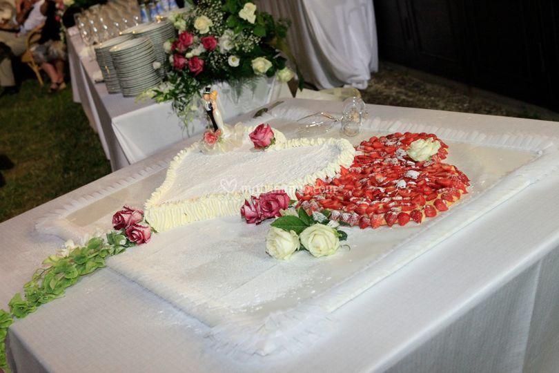 Torta Nuziale a Vista/3