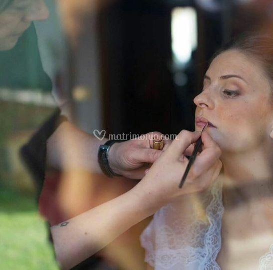 Make-up sposa naturale