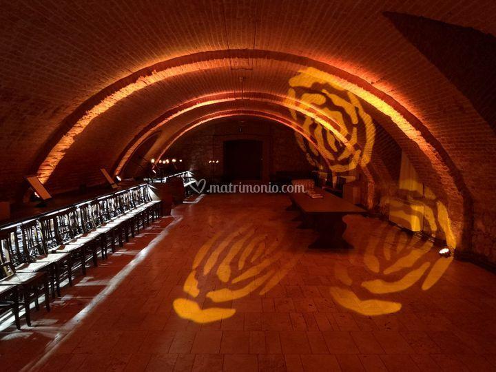 Esempio illuminazione sala