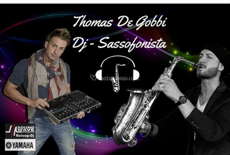 Thomas De Gobbi Dj Sax