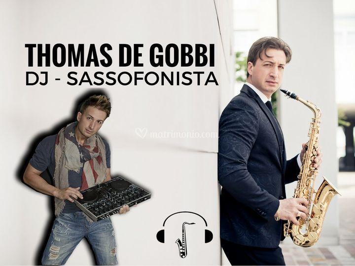 Thomas De Gobbi Dj Sax di Thomas de Gobbi Dj sassofonista