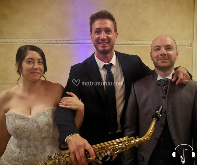 Sassofonista matrimonio dj