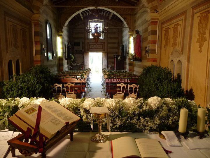 Addobbo Chiesa Matrimoni