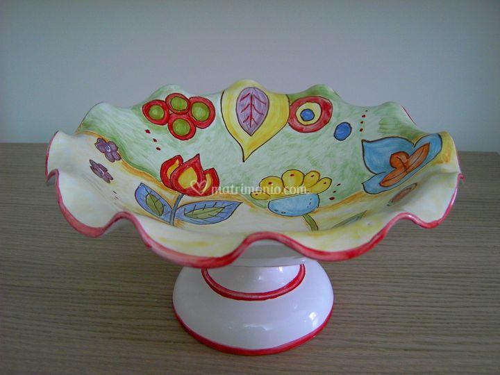 Centrotavola di ceramica