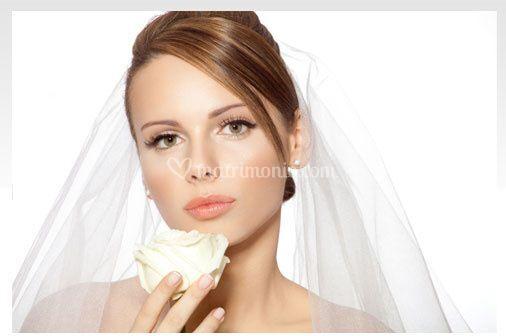 Make-up con extension ciglia
