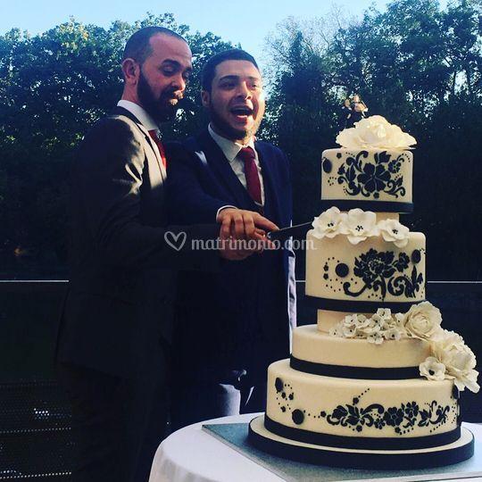Angelo e Alessio - Wedding cak