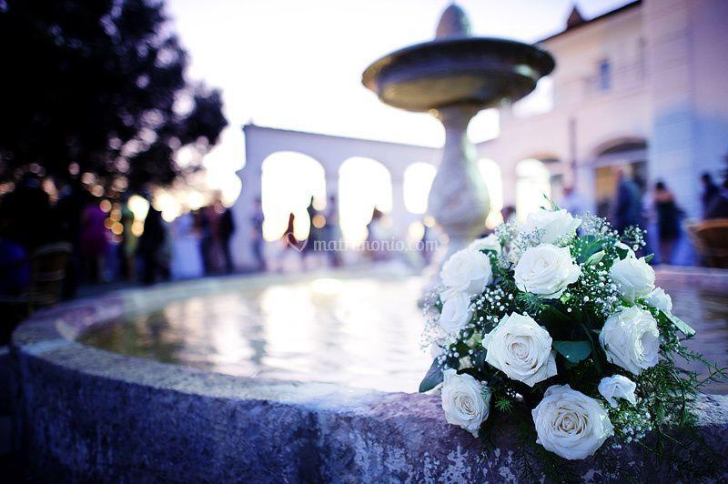 Bouquet in piazzetta