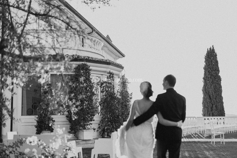 Matrimoni Bassano Romano : Casina di poggio della rota foto