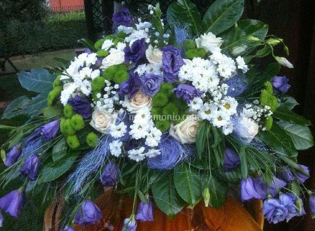 Decorazione con fiori