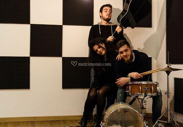 Il trio in acustico