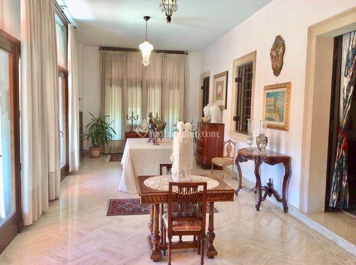 Villa Saraceni - Portico