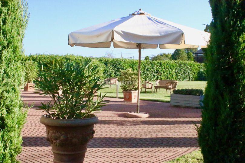 Villa Saraceni - Il Parco