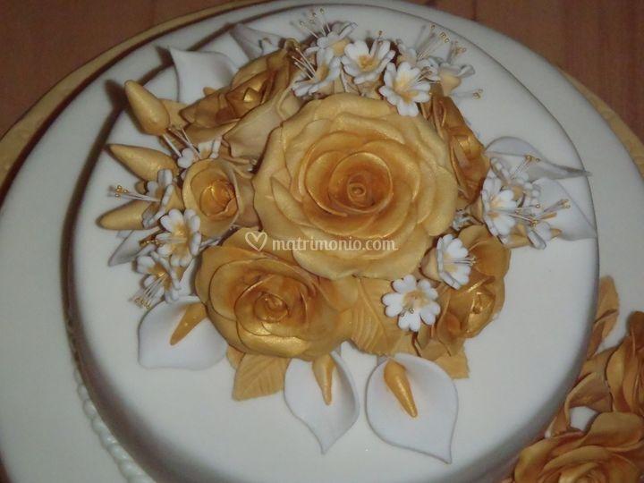 Bouquet pasta di zucchero