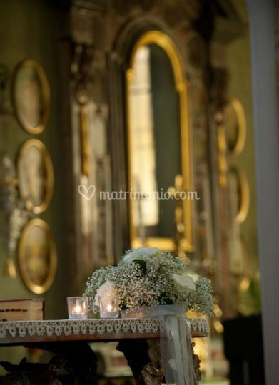 Addobbi chiesa/altare