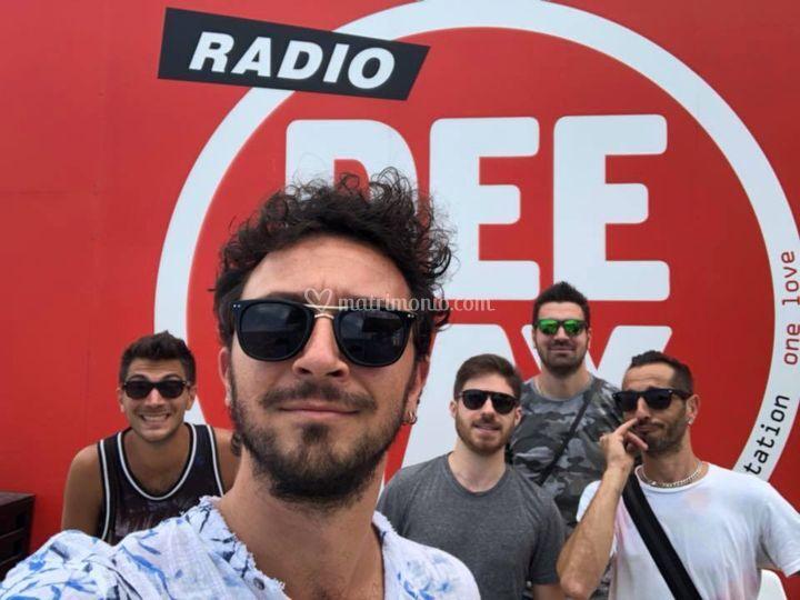 Riccione, evento Radio Deejay