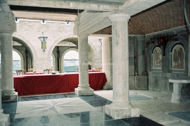 La sala del baccanale