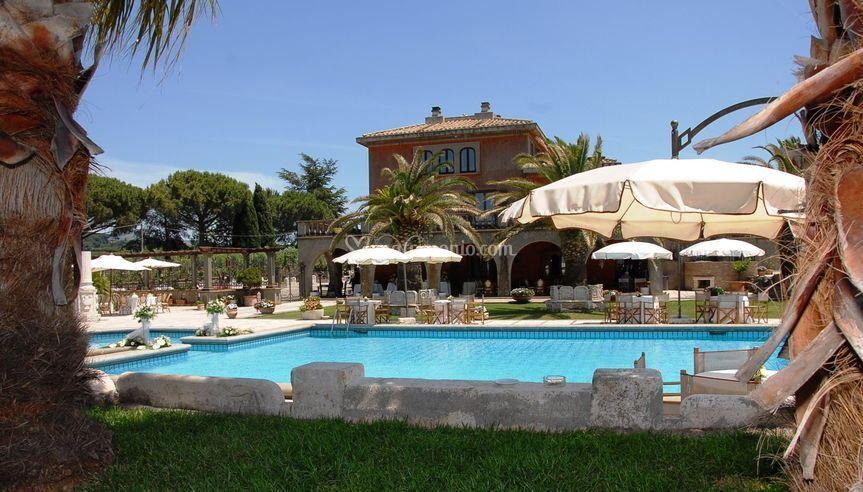 Esterni Villa MOnte d'oro