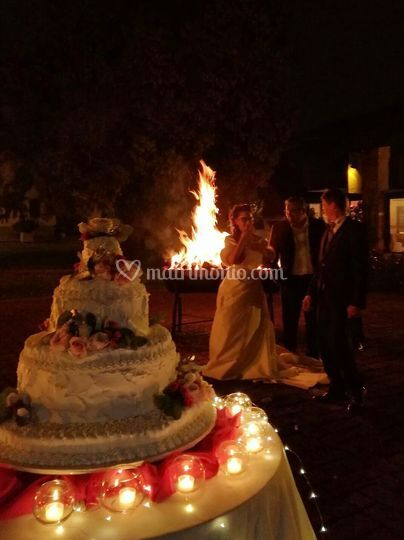 Taglio torta il 31 Dicembre