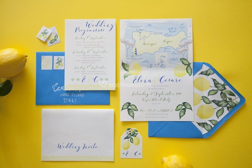 Stationery Limoni Capri