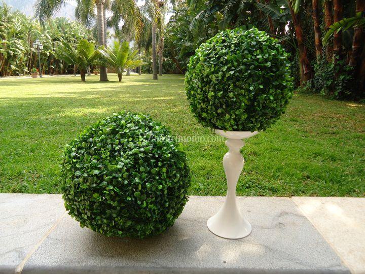 Sfere verdi artificiali