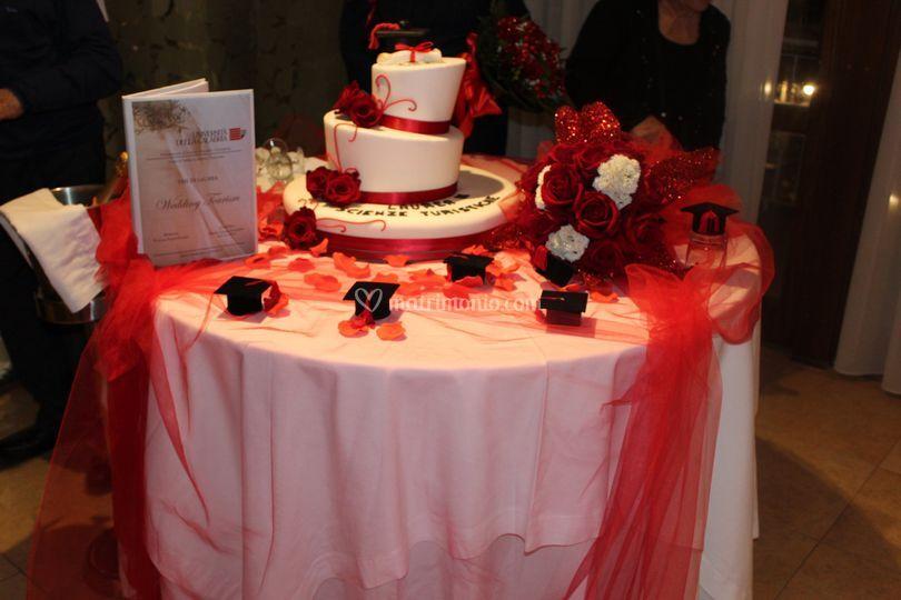Tavolo laurea hvsa di hotel villaggio s antonio foto 9 for Addobbi per laurea