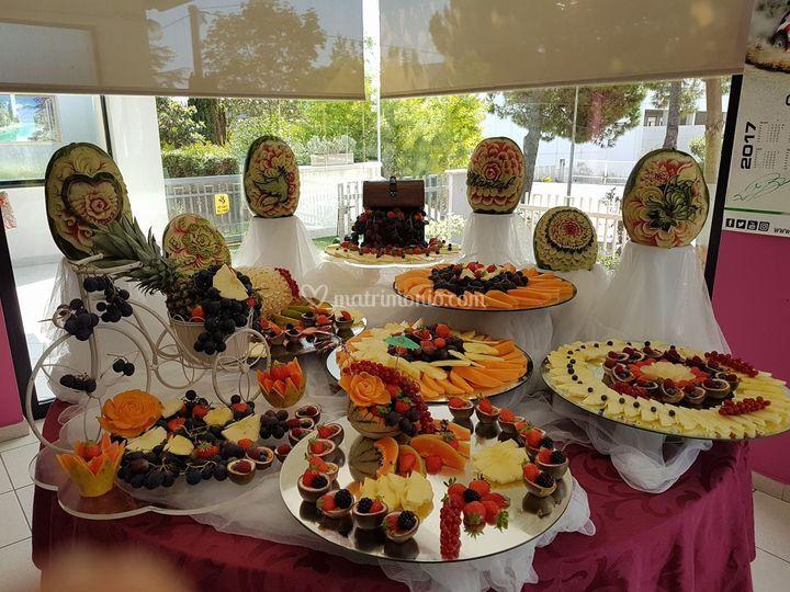 Buffet frutta