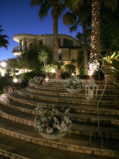 Villa Francesca di sera