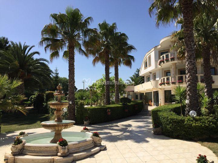 Villa  Francesca di giorno