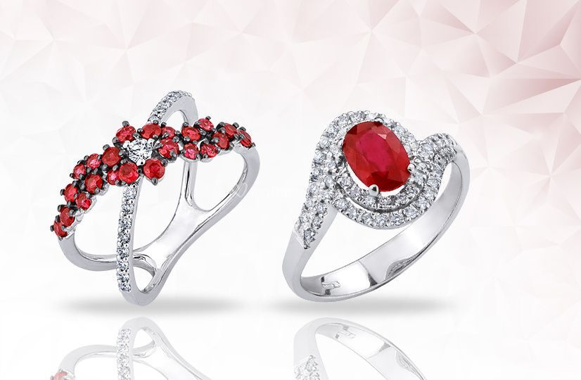 Preziosi con rubini