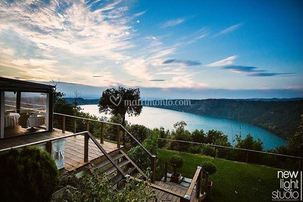 Location lago castelgandolfo di Ristorante Fauno del Bosco