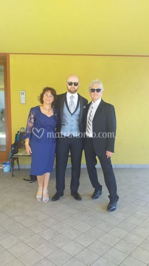 I genitori dello sposo