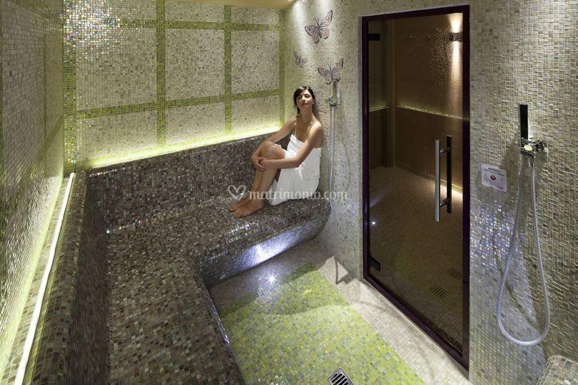 Bagno di vapore arzaga spa di palazzo arzaga foto