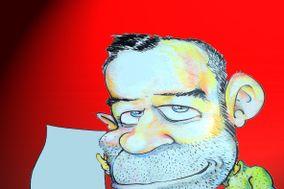 Andrea Damiani caricature